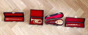 Instruments de musique miniatures
